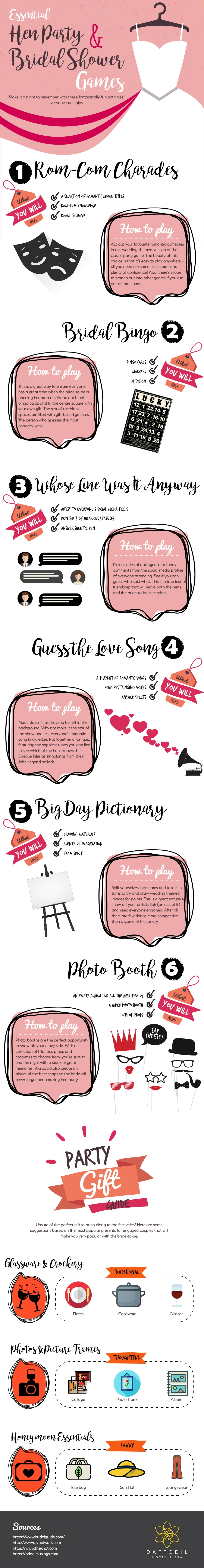 Bridal Shower & Hen Party Games