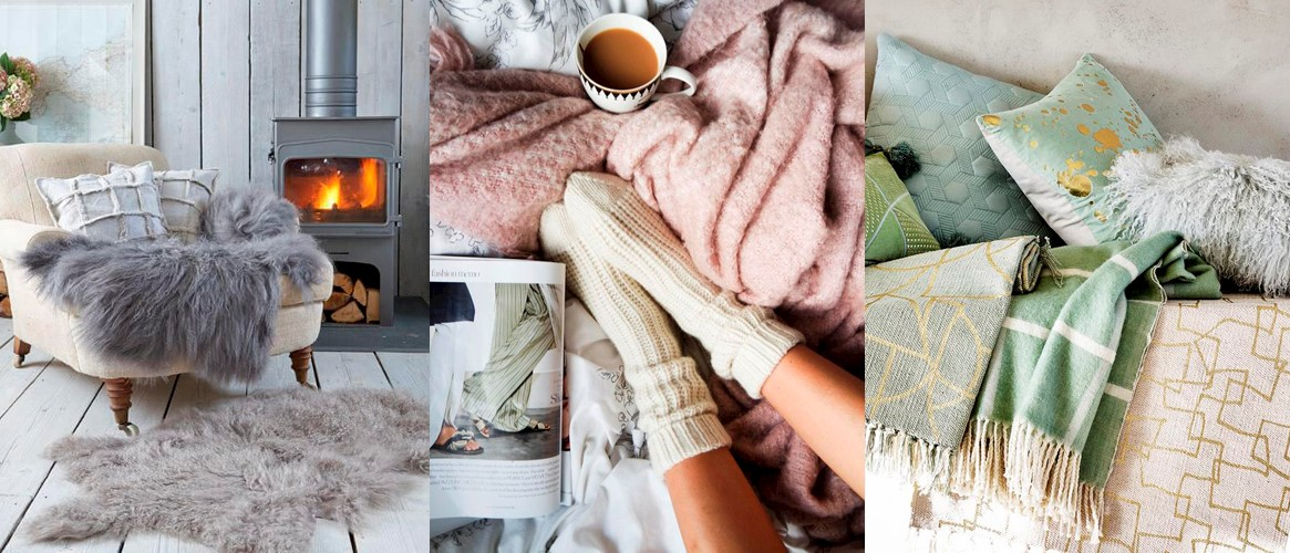 hygge cosy textures