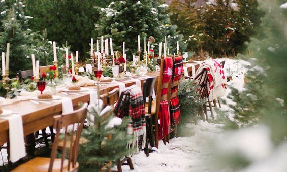 5 festive ideas for a christmas wedding