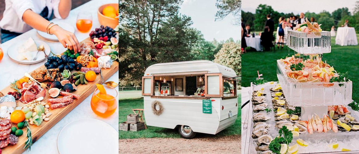 Wedding Food Stations