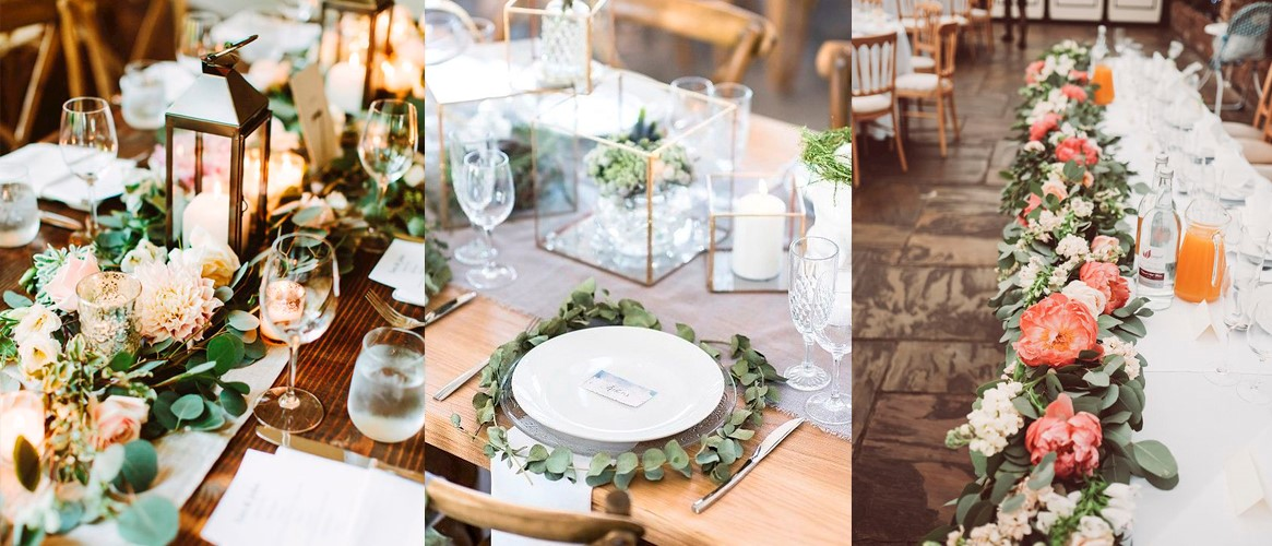 Wedding Table Florals