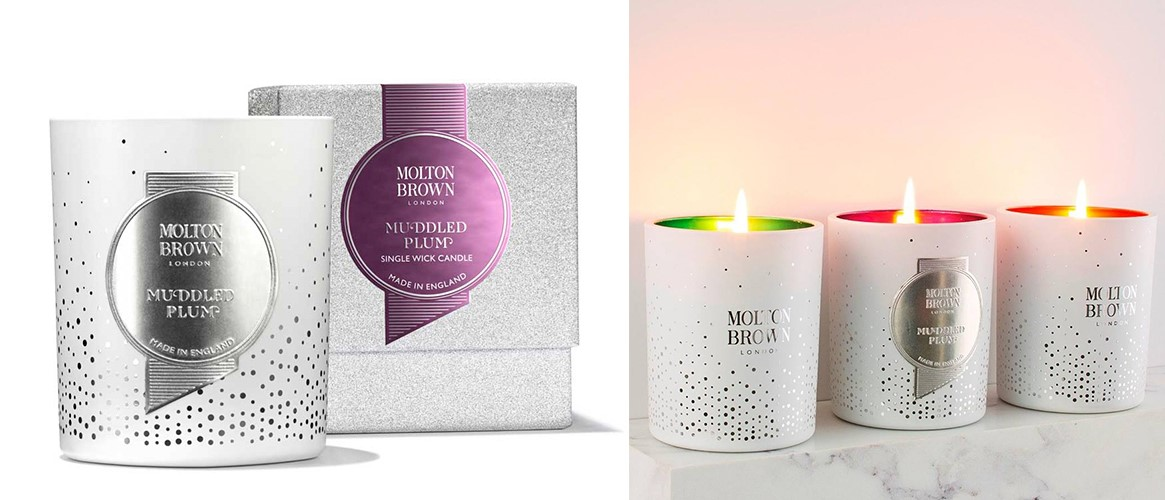Molton Brown Muddled Plum luxury christmas candle
