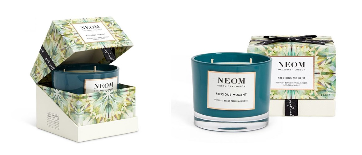 NEOM Precious Moment luxury christmas candle